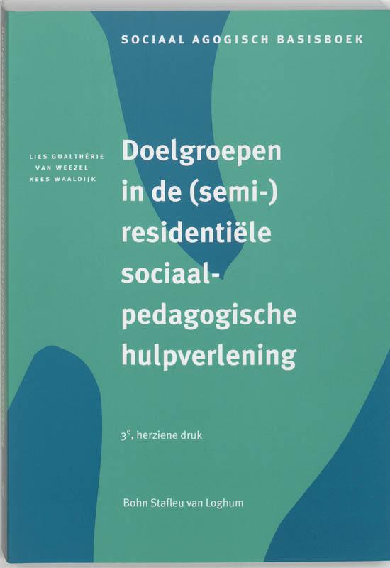 Cover Doelgroepen in (semi-)residentiele sociaalpedagogische hulpverlening