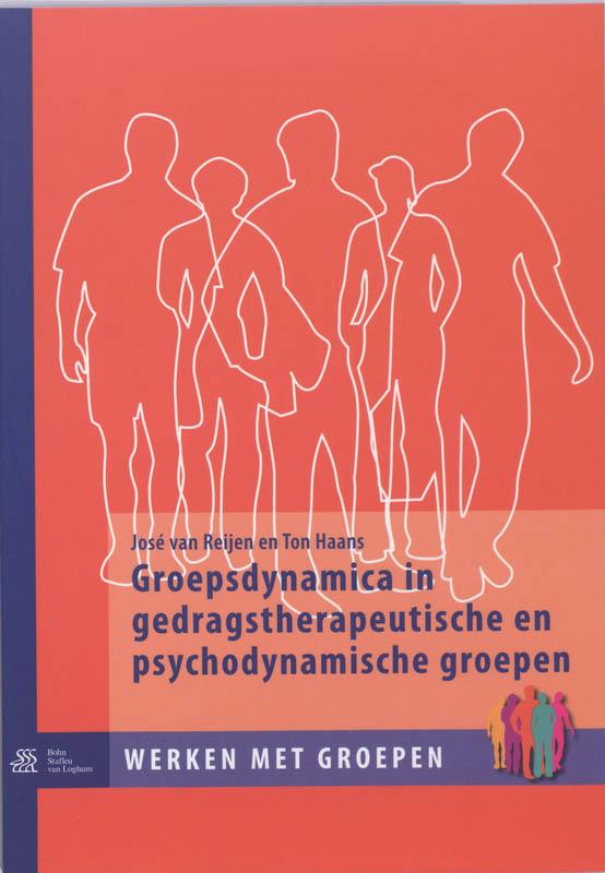 Cover Groepsdynamica in gedragstherapeutische en psychodynamische groepen