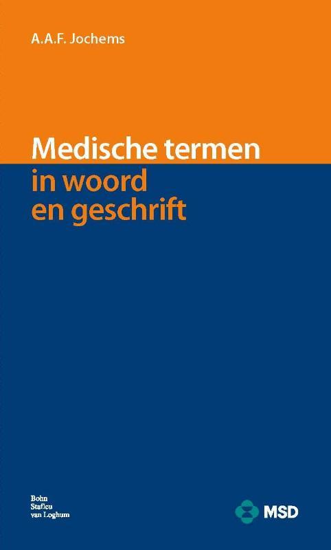 Cover Medische termen in woord en geschrift