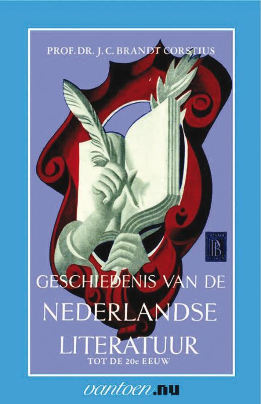 Citaten Nederlandse Literatuur : Boek geschiedenis van de nederlandse literatuur tot de e eeuw