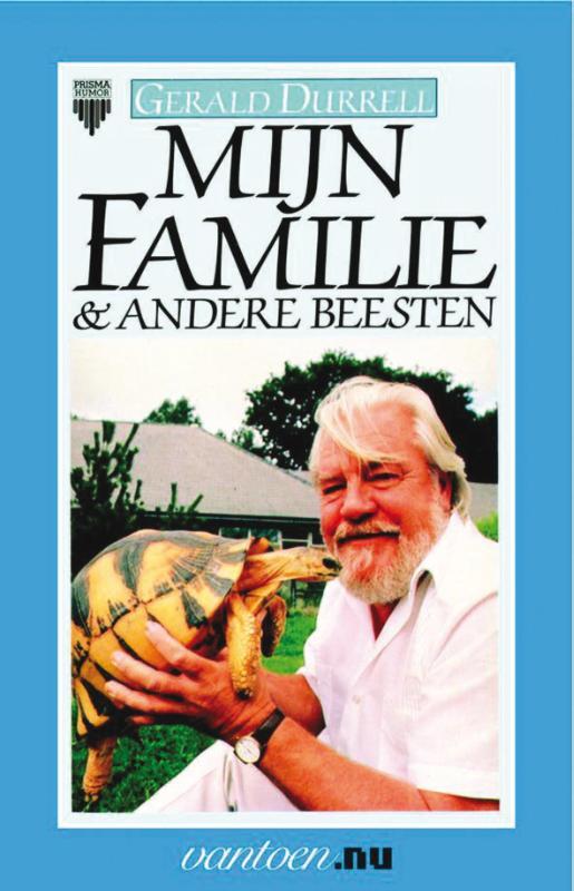 Cover Mijn familie & andere beesten