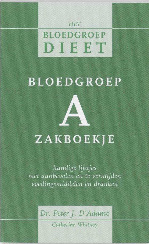 Cover Bloedgroep A zakboekje