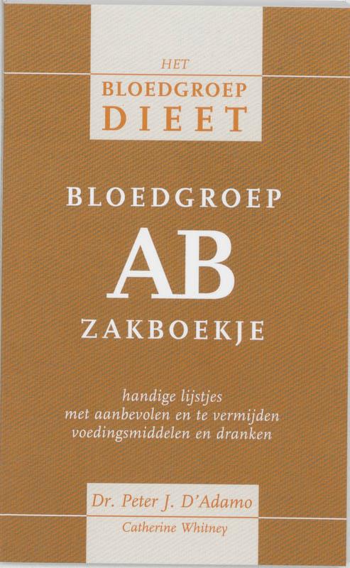 Cover Bloedgroep AB zakboekje