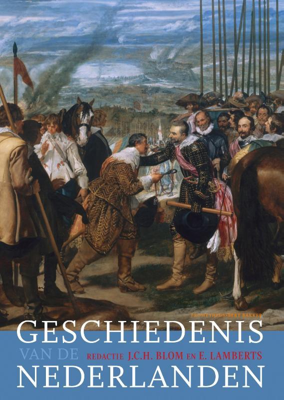 Cover Geschiedenis van de Nederlanden