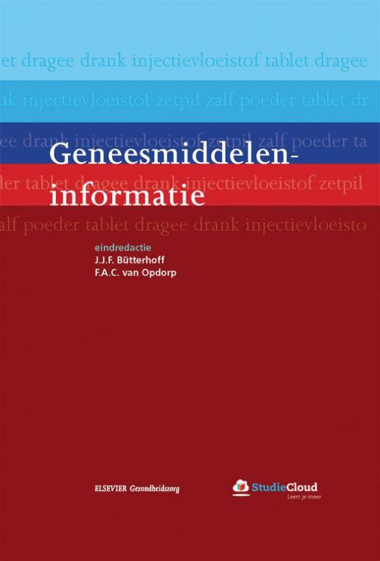 Cover Geneesmiddeleninformatie