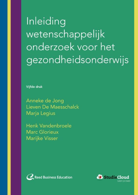 Cover Inleiding wetenschappelijk onderzoek voor het gezondheidsonderwijs