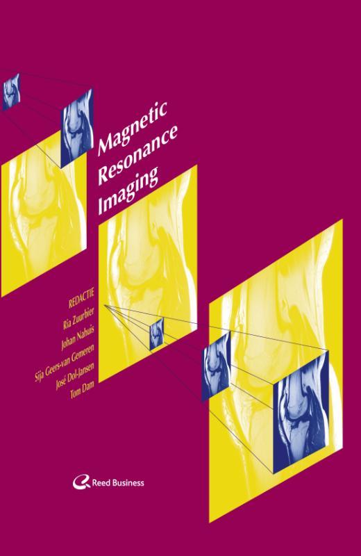 Cover Magnetic resonance imaging: techniek en onderzoek