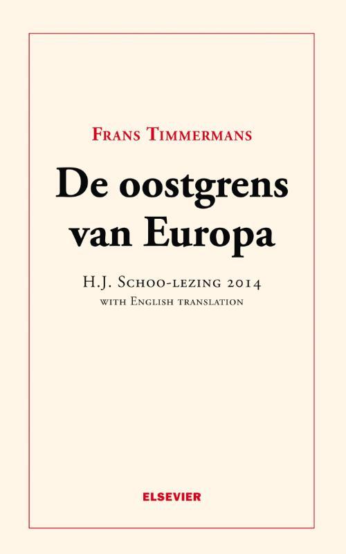 Cover De oostgrens van Europa
