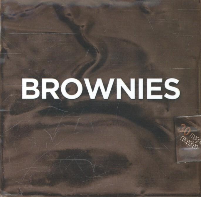 Cover Brownies kookboekje magneetsluiting