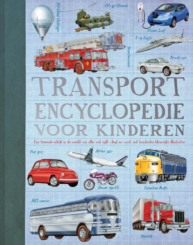 Cover Transport encyclopedie voor kinderen