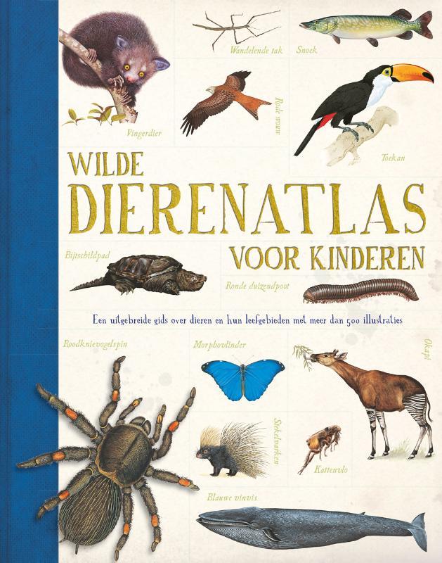 Cover Wilde dierenatlas voor kinderen