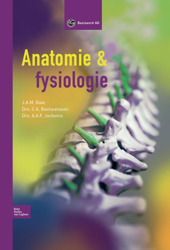Cover Anatomie en fysiologie