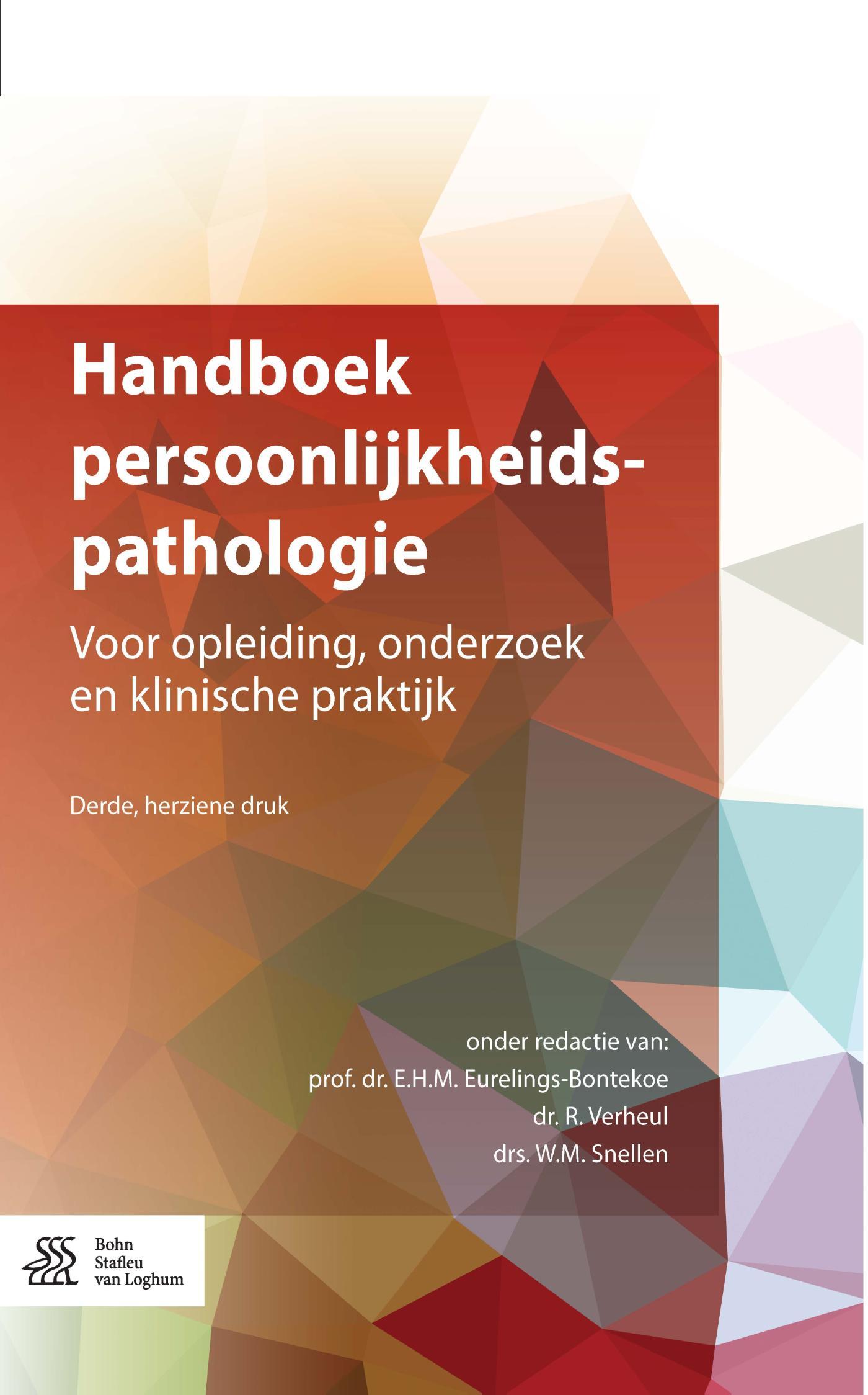 Cover Handboek persoonlijkheidspathologie
