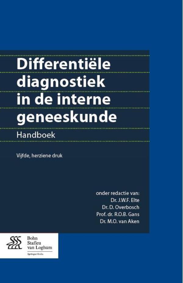 Cover Differentiële diagnostiek in de interne geneeskunde