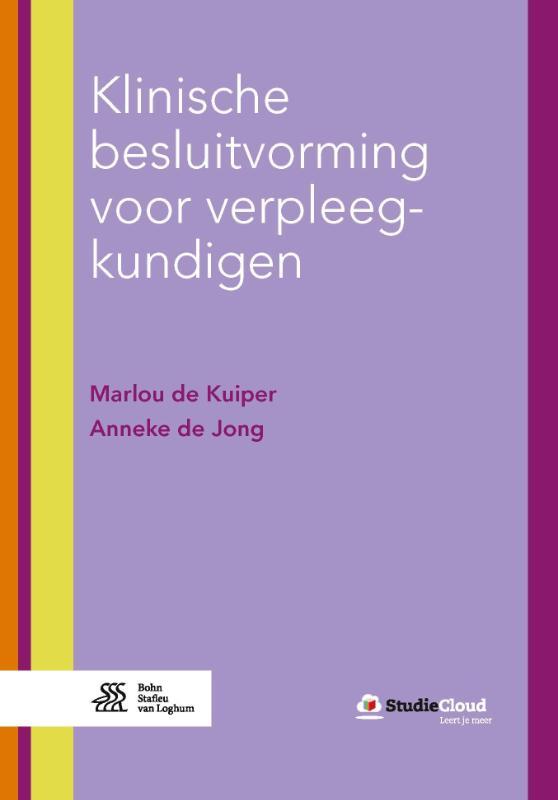 Cover Klinische besluitvorming voor verpleegkundigen