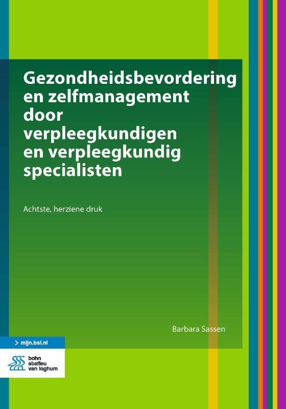 Cover Gezondheidsbevordering en zelfmanagement door verpleegkundigen en verpleegkundig specialisten