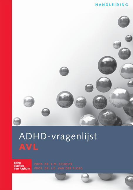 Cover ADHD-vragenlijst AVL