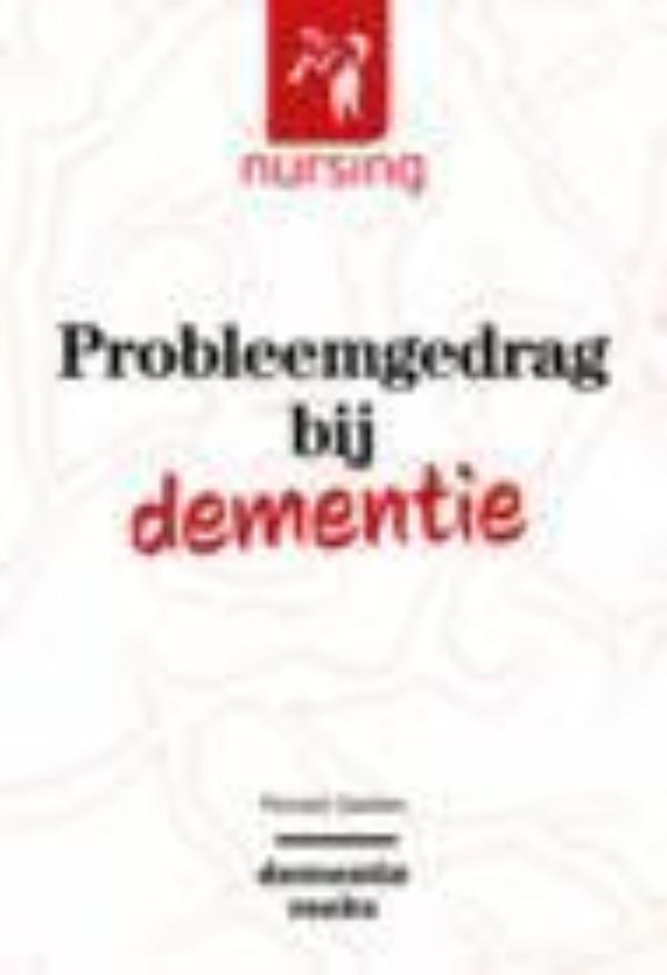 Cover Probleemgedrag bij dementie