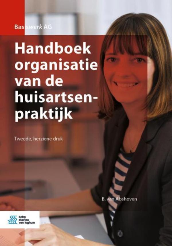 Cover Handboek organisatie van de huisartsenpraktijk