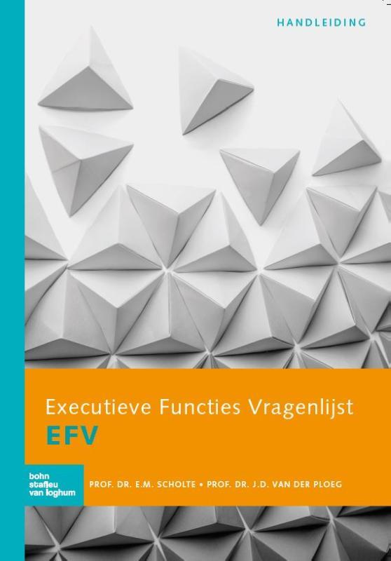 Cover Executieve Functies Vragenlijst (EFV) handleiding