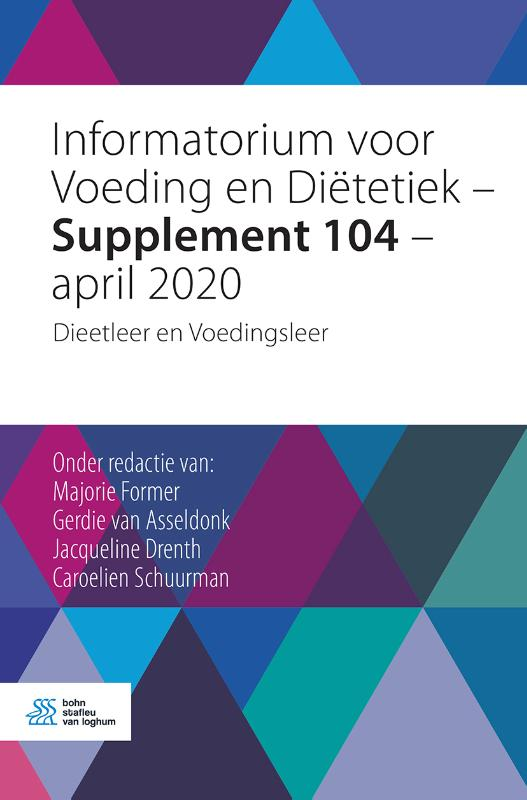Cover Informatorium voor Voeding en Diëtetiek - Supplement 104 - april 2020