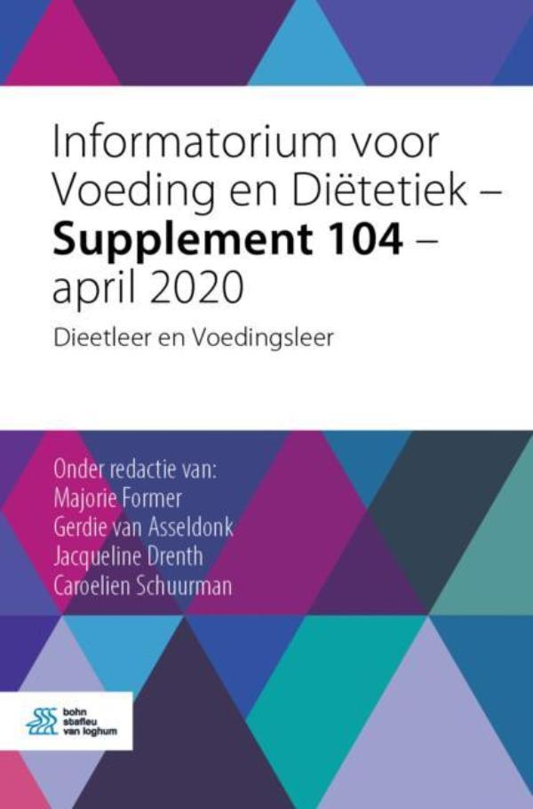 Cover Supplement 104 - april 2020 Dieetleer en Voedingsleer