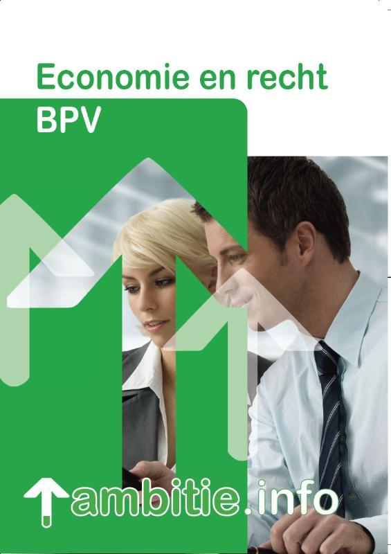 Cover BPV economie en recht