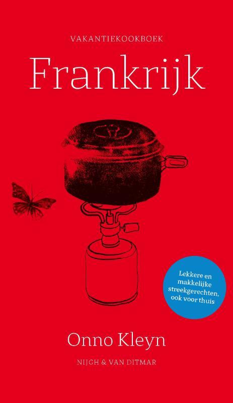 Cover Vakantiekookboek Frankrijk