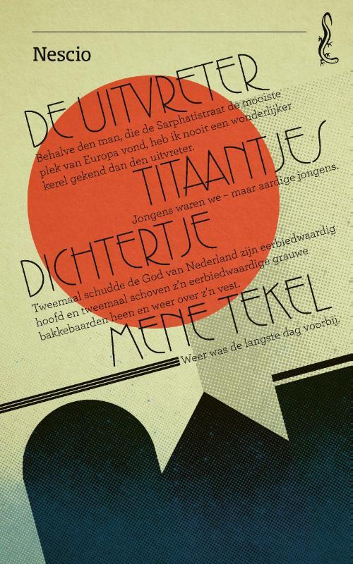 Cover De uitvreter / Titaantjes / Dichtertje / Mene Tekel