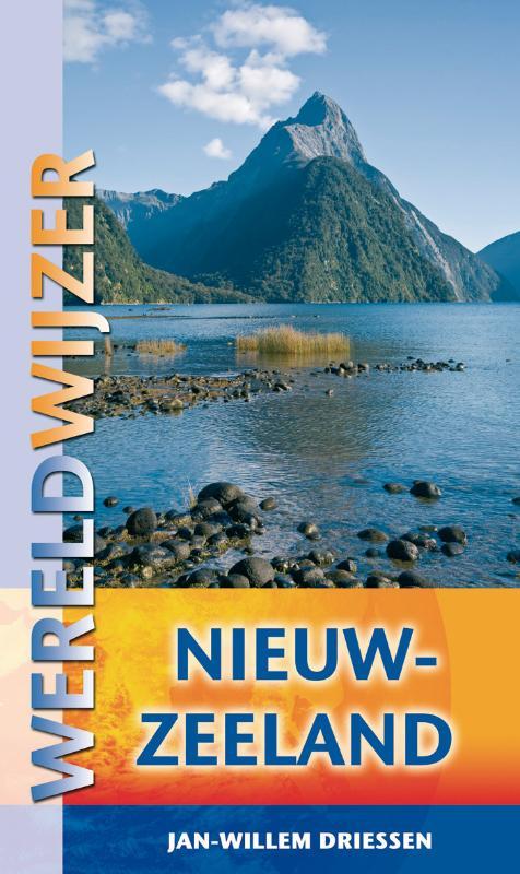 Cover Wereldwijzer Nieuw-Zeeland