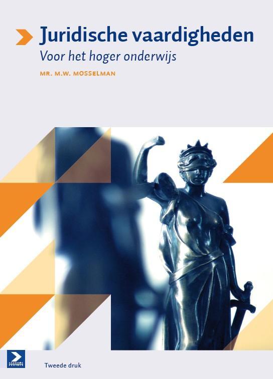 Cover Juridische vaardigheden voor het hoger onderwijs