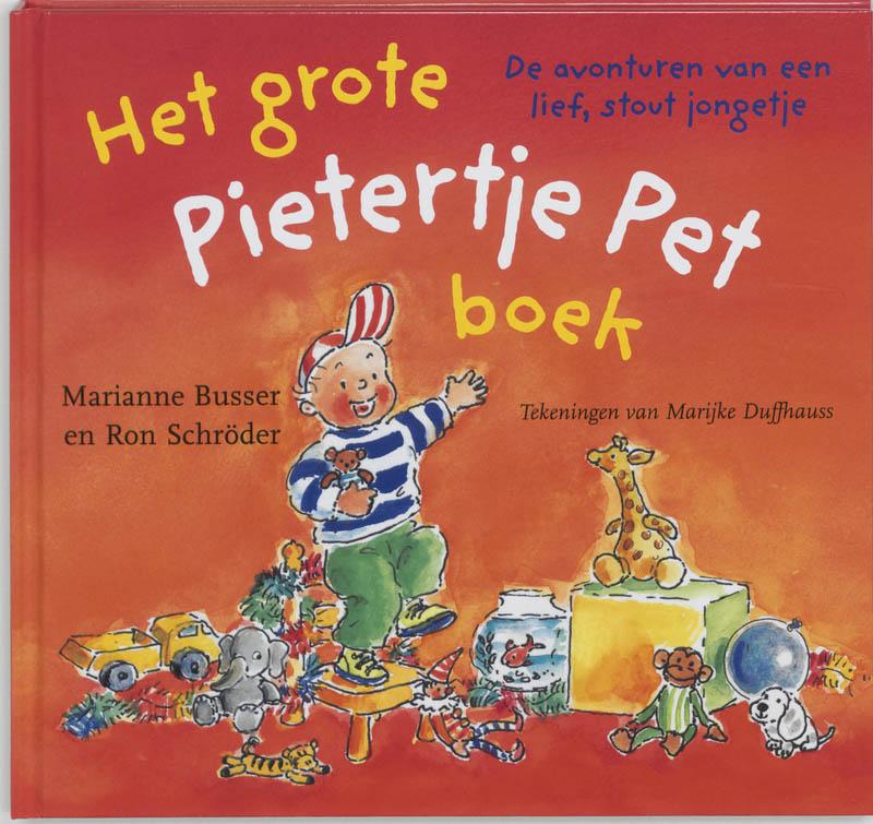 Cover Het grote Pietertje Pet boek