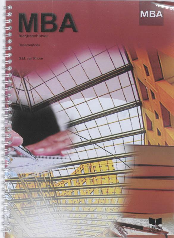 Cover MBA Bedrijfsadministratie