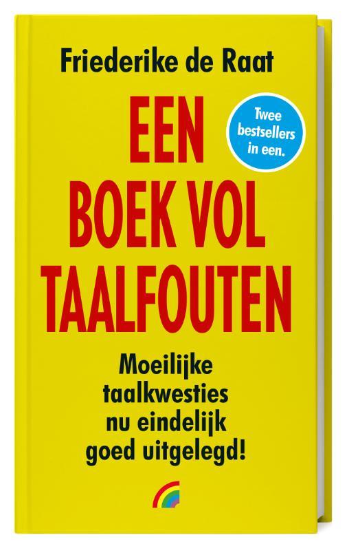 Cover Een boek vol taalfouten