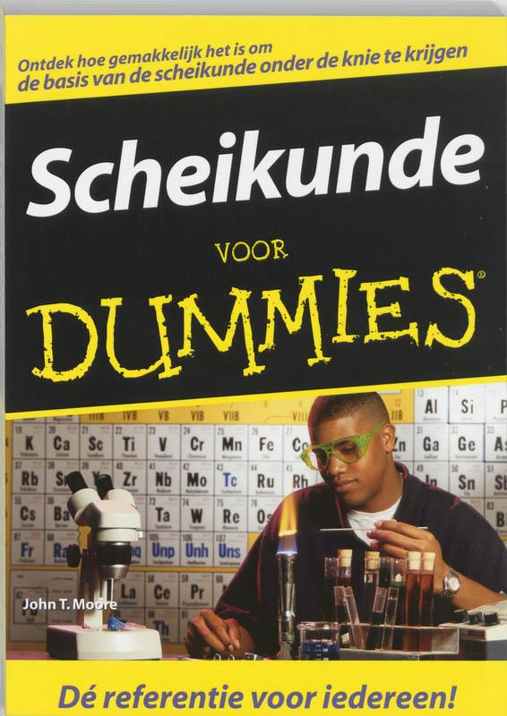Cover Scheikunde voor Dummies