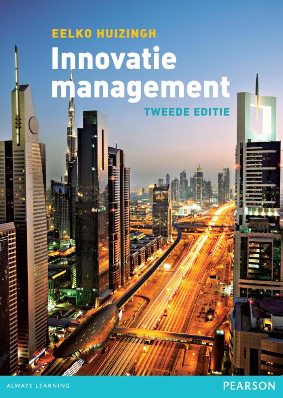 Ongebruikt Boek: Innovatiemanagement - Geschreven door Eelko Huizingh SB-58