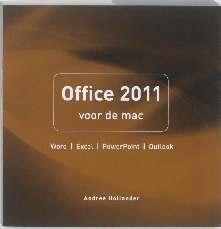 Cover Office 2011 voor de mac