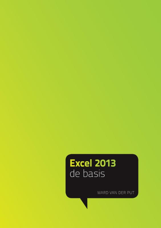 Cover Excel 2013