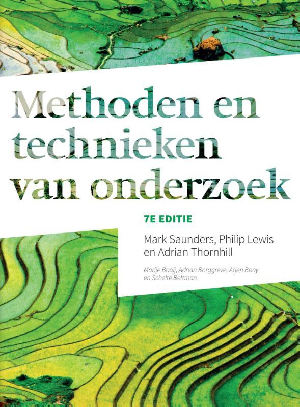 Cover Methoden en technieken van onderzoek, 7e editie met MyLab NL toegangscode