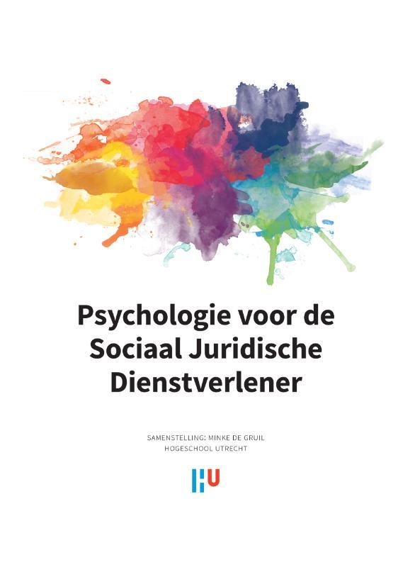 Cover Psychologie voor de sociaal juridische dienstverlener