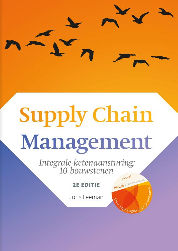 Cover Supply Chain Management, 2e editie met MyLab NL toegangscode