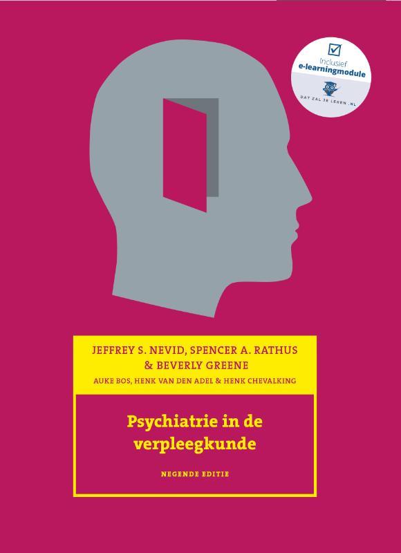 Cover Psychiatrie in de verpleegkunde