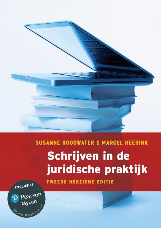 Cover Schrijven in de juridische praktijk, 2e herziene editie met MyLab NL toegangscode