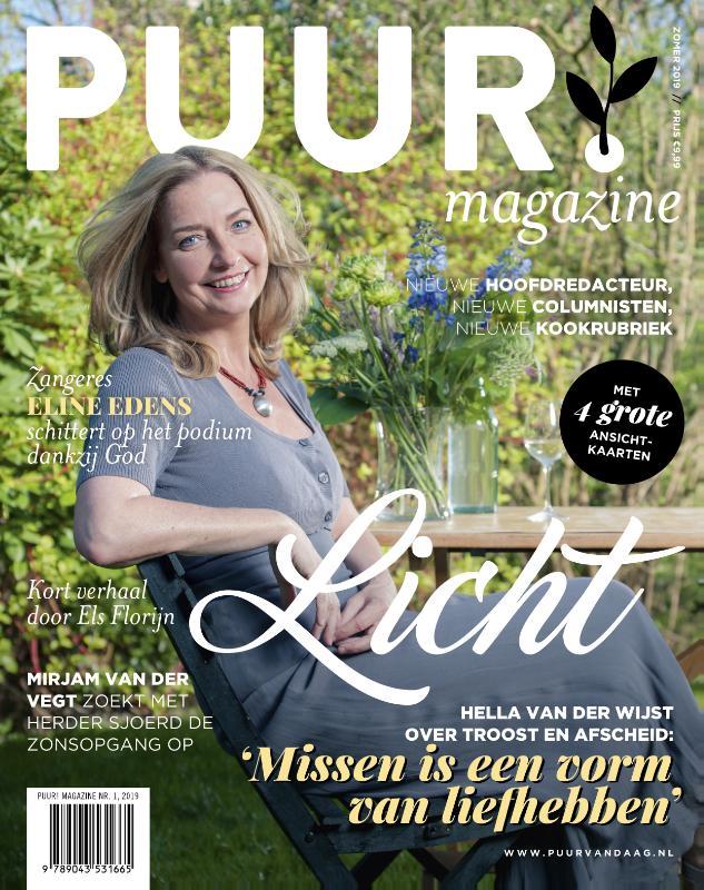 Cover PUUR! Magazine nr 1 - 2019