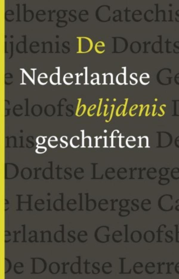 Cover De Nederlandse Belijdenisgeschriften