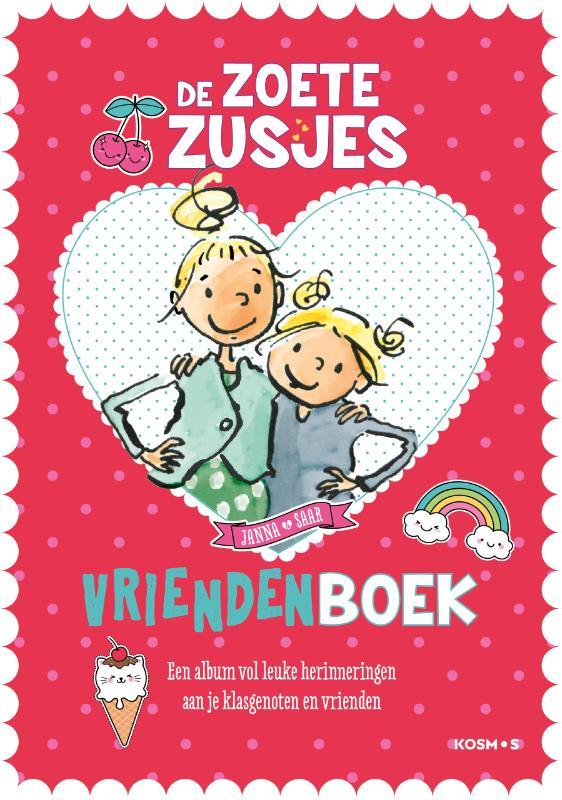 Cover De zoete zusjes vriendenboekje
