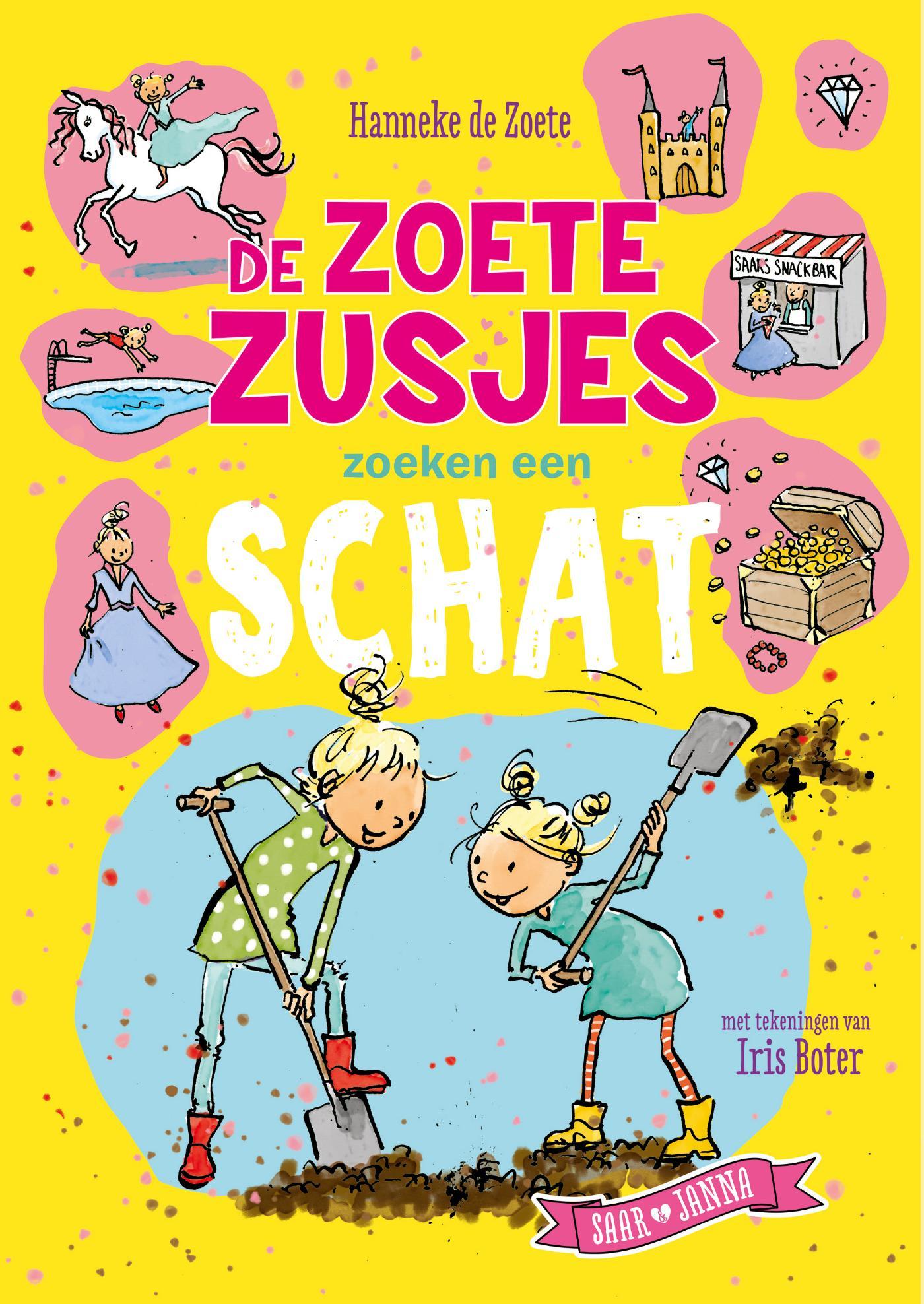 Cover De Zoete Zusjes zoeken een schat