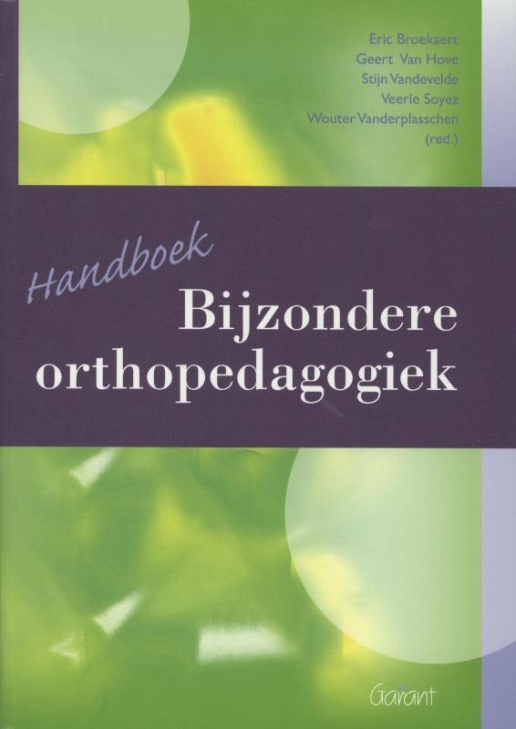 Cover Handboek bijzondere orthopedagogiek