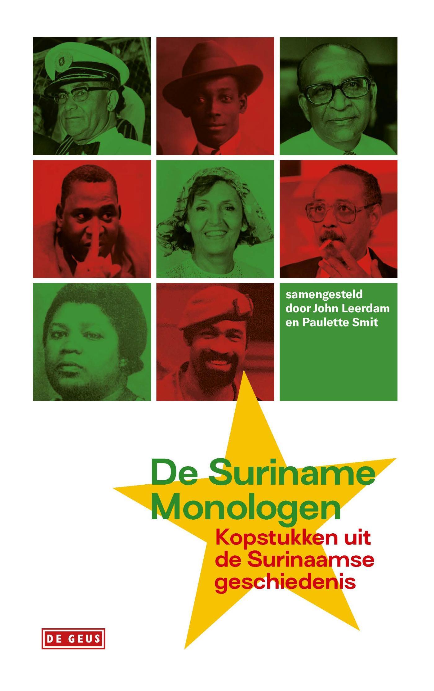 Cover De suriname-monologen