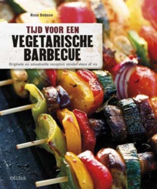 Cover Tijd voor een vegetarische barbecue